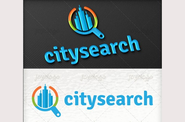 Buildings Finder City Search Logo