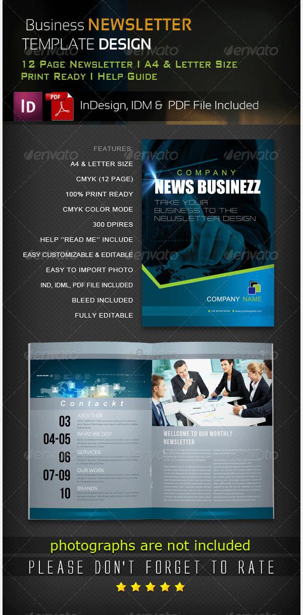 business newsletter v 2