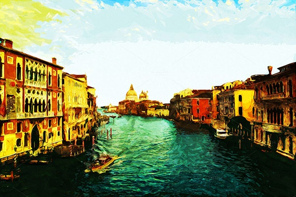 canale grande painted version