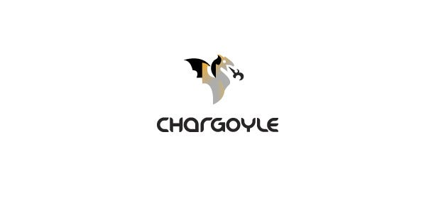 Chargoyle Dragon Logo Design