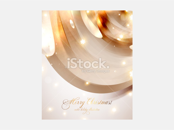 Christmas Card. Abstract background - Illustration