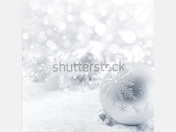Christmas balls on snow,Closeup