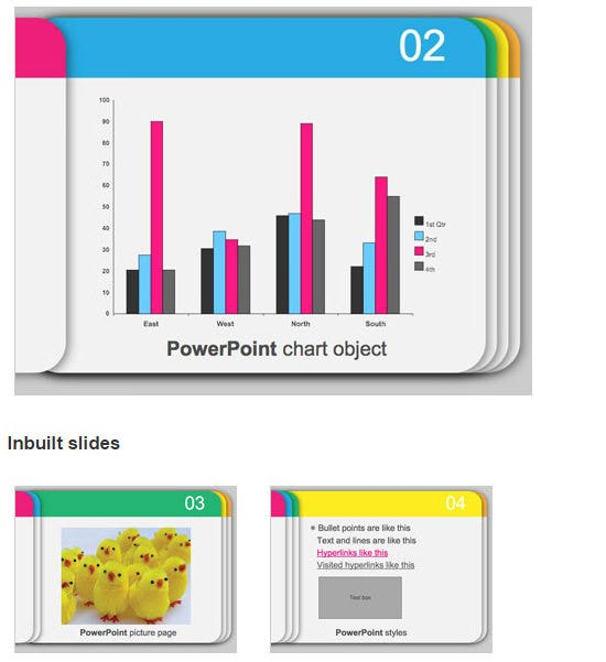 Custom made powerpoint presentations