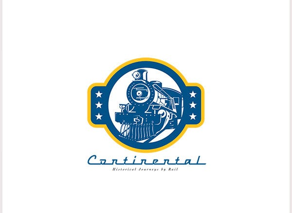 continental journey by rail logo