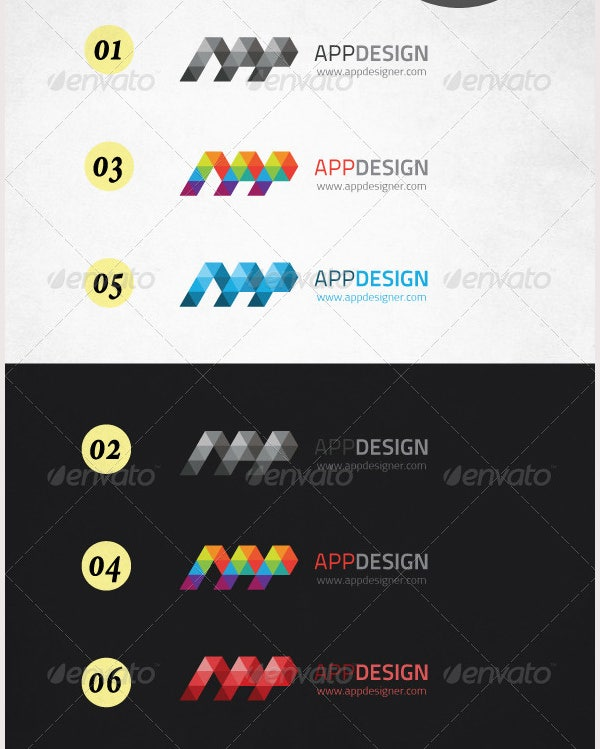 corporate logo app design