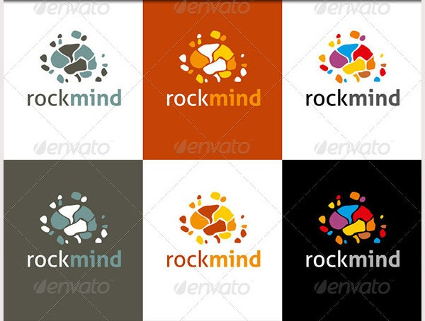 Corporate Logo Design - Rockmind Logo