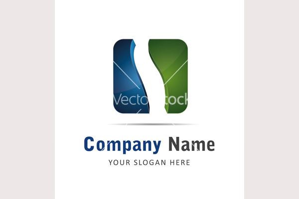 Corporate brand logo