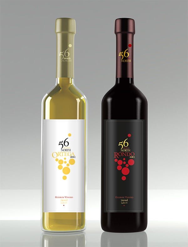 design wine label series