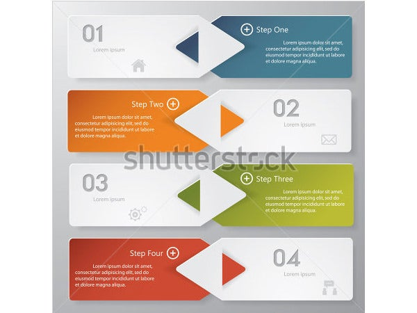 design clean number banners template1