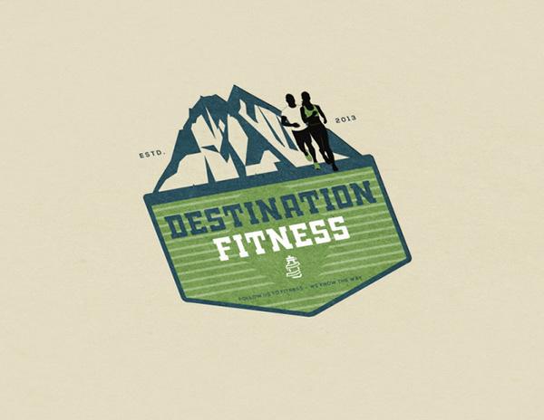 Destination Fitness Logo