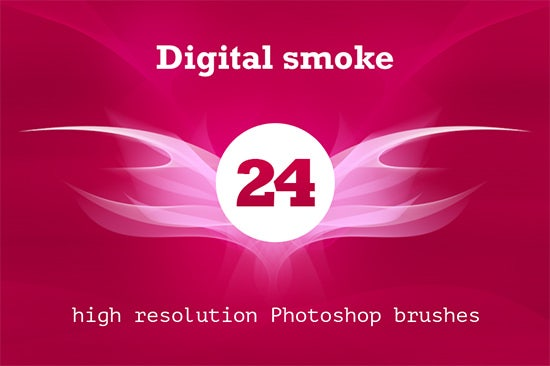 digital smoke brush