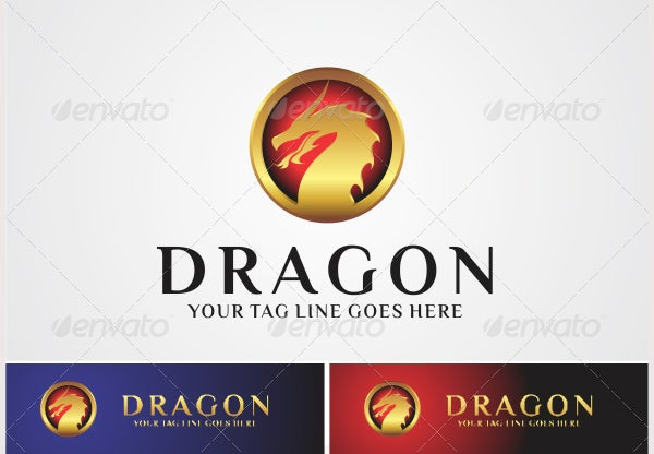 dragon logo cir