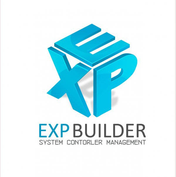 EXP Builder Design Logo