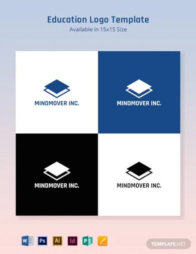 education logo template3