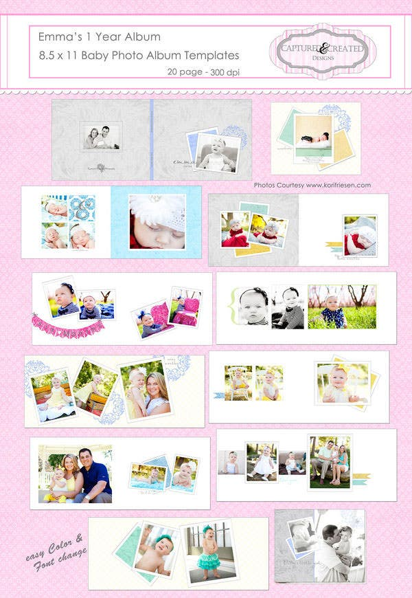 Beautiful Baby Photo Album 13 Free Psd Ai Vector Eps