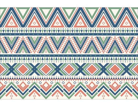 ethnic ornamental seamless patterns