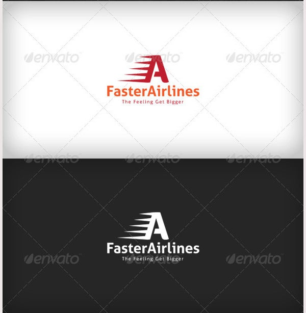 Faster Airlines Logo