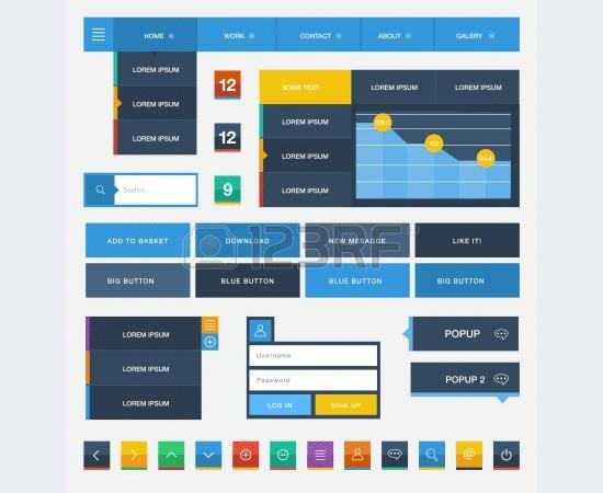 flat user interfaceve