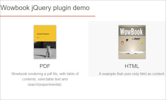 flipbook jquery plugin