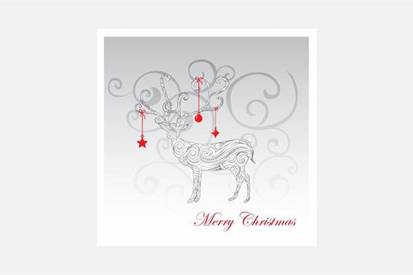 Vector Christmas Christmas Reindeer