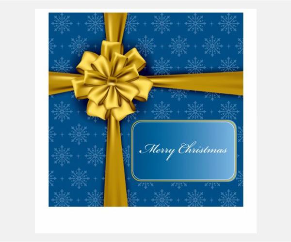Vector Christmas christmas gift box vector