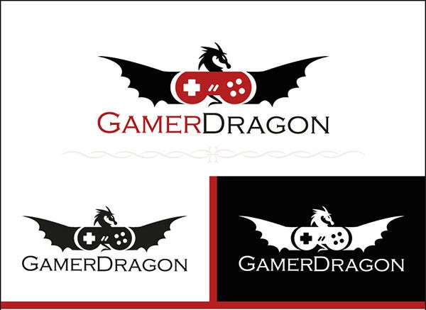 GamerDragon - Logo