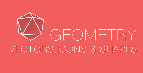 geometry vectors icons and shapes