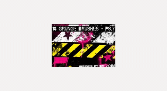 grunge shapes ps 7