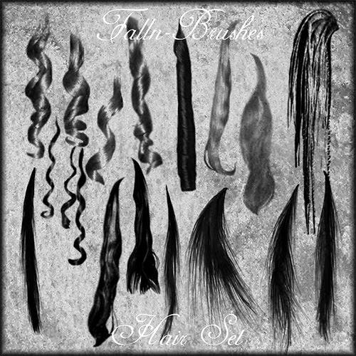 hair brushes set 1