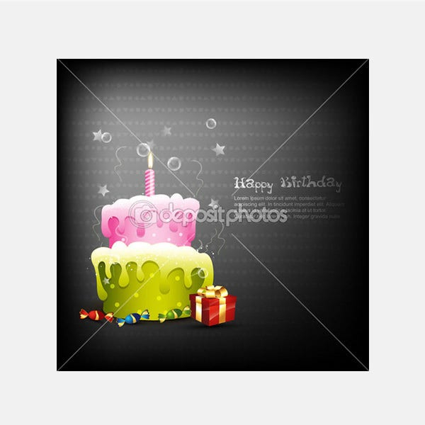 Happy birthday - Stock Illustration