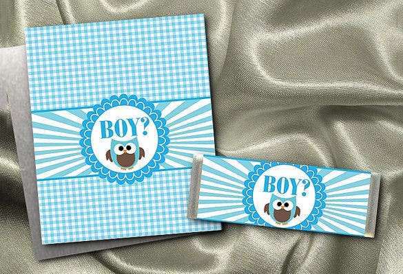 Baby Shower Candy Wrappers Templates Free | 32 Candy Bar Wrapper Templates Pdf Psd Eps Free Premium