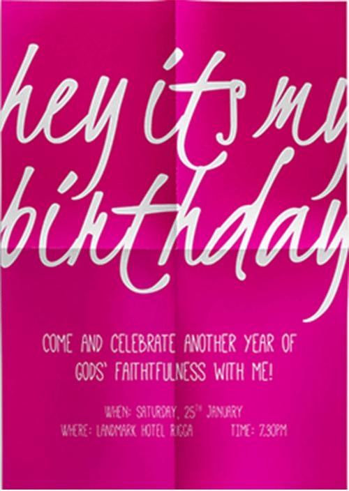 hey birthday