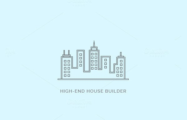 55 Ultimate Collection Of Builders Logo Designs