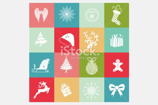 Holiday Icons - Illustration