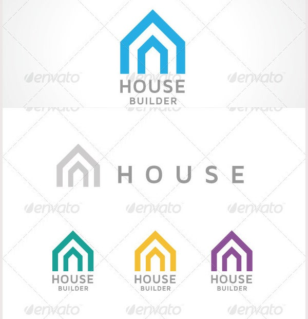 55 ultimate collection of builders logo designs free for Home builder online free