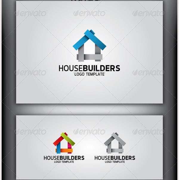 HouseBuilders Logo Template