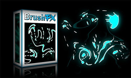 light brush pack abstract light