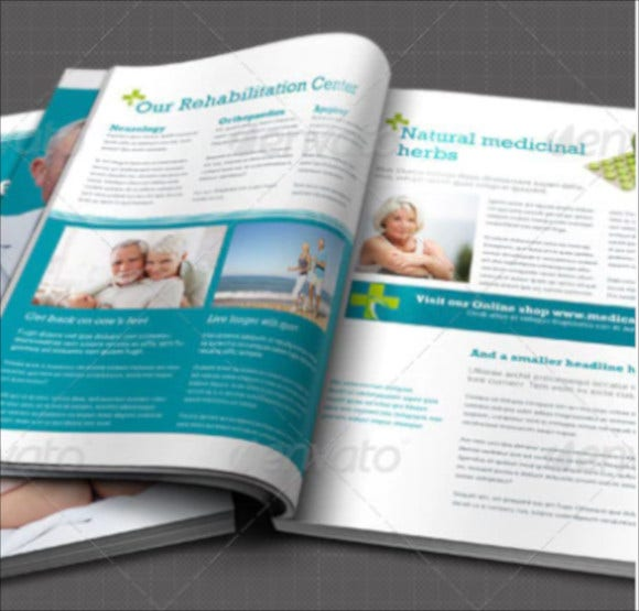 medical-newsletter-template