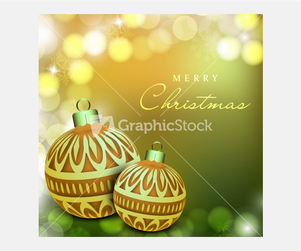Merry Christmas Celebration Greeting Card Or Background Stock Image