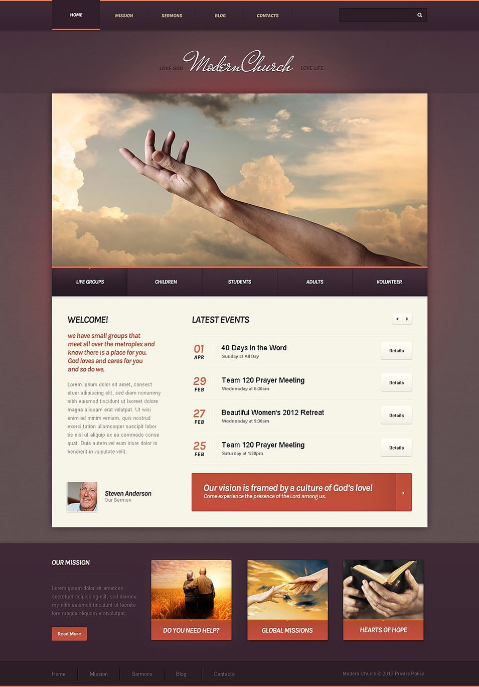 Directory Listing Drupal Theme