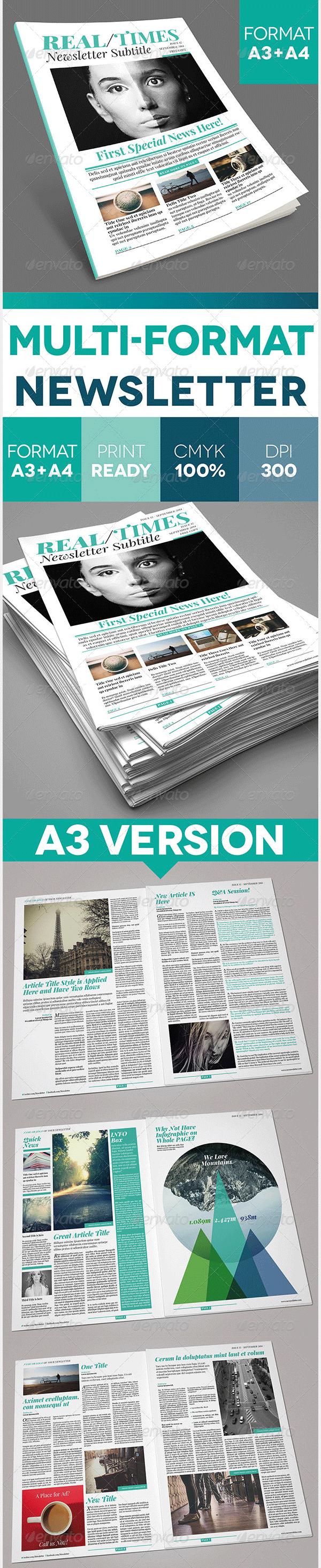 multi format newslette
