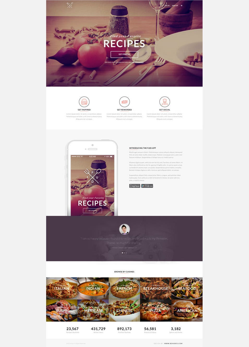 Landing Page Template Free PSD Format Download Free - Medical landing page template