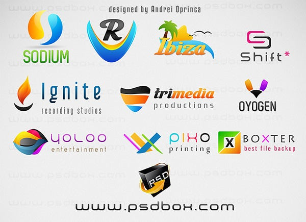 my fresh psd logos