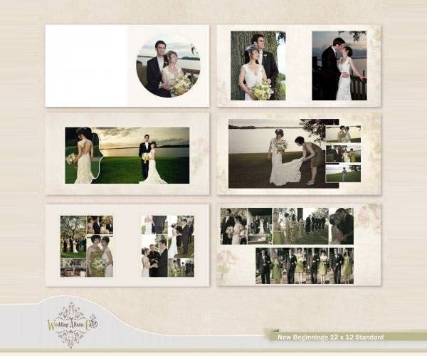 Doc585468 Wedding Photo Album Templates Wedding Album – Photo Album Templates Free