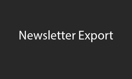 newsletter export