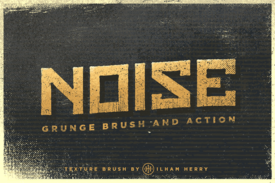noise grunge brushes pack