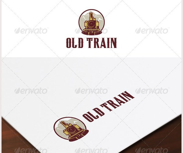 Old Train Logo