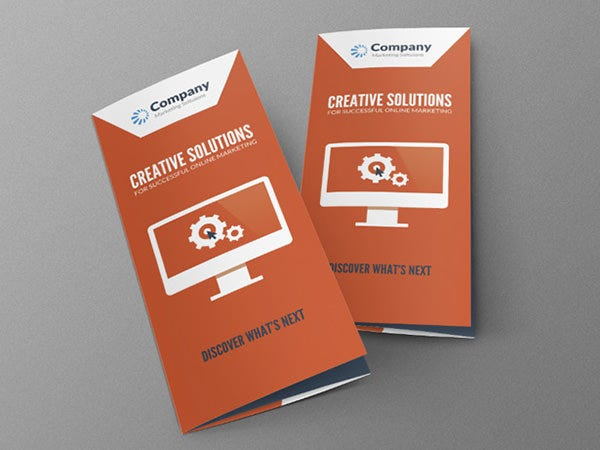 online marketing brochure