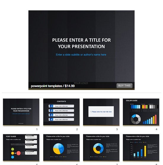 ppt presentation design template