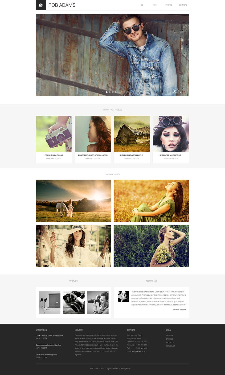 photo artist drupal template 50508 big